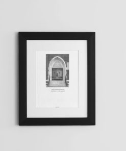 015-GALLIANI-COLLECTION-UR-Business-School-Door-Wall-Art-Black-Frame