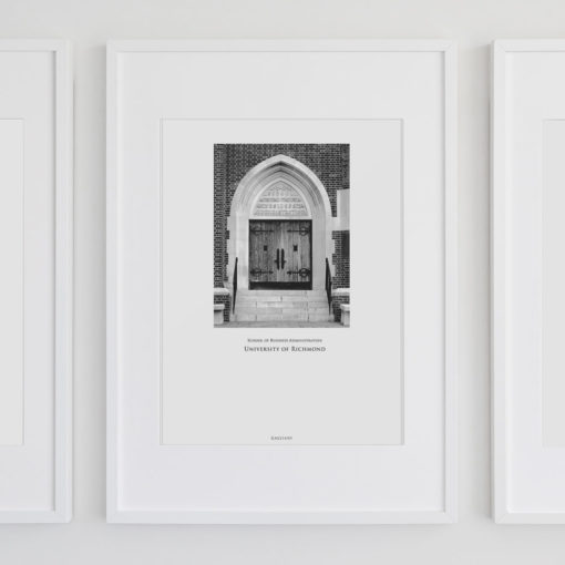 015-GALLIANI-COLLECTION-UR-Business-School-Door-Wall-Art-White-Frame