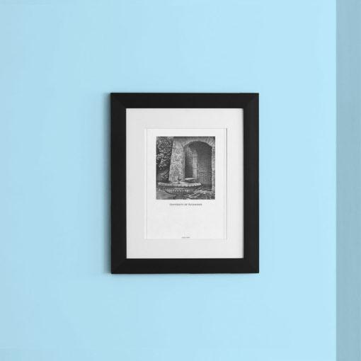 024-GALLIANI-COLLECTION-UR-Fountain-Women-Center-Wall-Art-Black-Frame