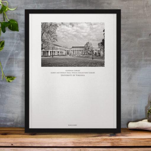 034-GALLIANI-UVA-042-Alderman-Library-Wall-Art-Home-Decor Black & White Photography