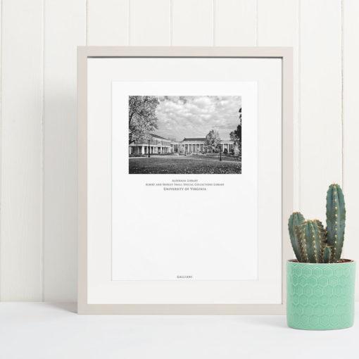034-GALLIANI-UVA-042-Alderman-Library-Wall-Art-Home-Decor-Off-White-Frame