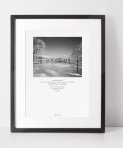 035-GALLIANI-UVA-043-AldermanLib-Winter-Wall-Art-Black-Frame