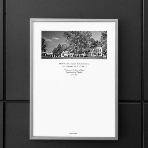 036-GALLIANI-UVA-041-BrownCollege-Wall-Art-Grey-Frame