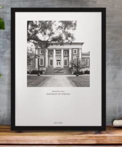 037-GALLIANI-UVA-047b-MadisonHall-Wall-Art-Black-Frame-Office-Decor Black & White Photography