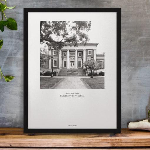 037-GALLIANI-UVA-047b-MadisonHall-Wall-Art-Black-Frame-Office-Decor Black & White Photography
