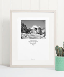 038-GALLIANI-UVA-044-FayerweatherHall-Wall-Art Black & White Photography