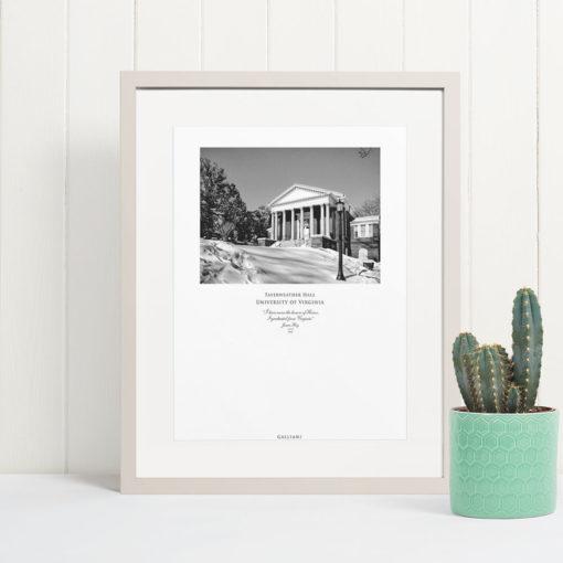 038-GALLIANI-UVA-044-FayerweatherHall-Wall-Art Black & White Photography