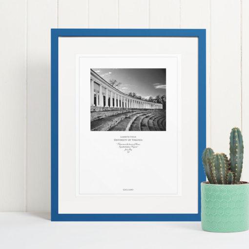 041-GALLIANI-UVA-052b-Lambeth-Field-Wall-Art-Blue-Frame Black & White Photography