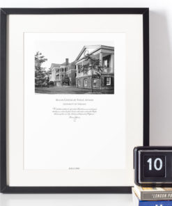 045-GALLIANI-UVA-Miller-Center-Wall-Art-Black-Framed Black & White Photography