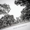 Duke University Black & White Photography