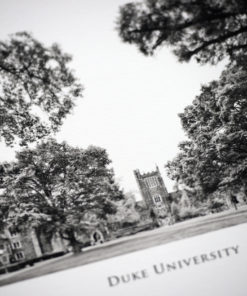Duke University Black & White Photography
