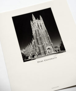 GALLIANI COLLECTION-Duke-Chapel-Full-1464 Black & White Photography