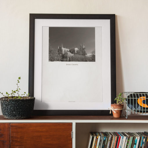 DUKE-CHAPEL-011-GALLIANI-COLLECTION-Wall-Art-Black-Frame