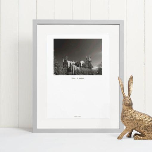 DUKE-CHAPEL-011-GALLIANI-COLLECTION-Wall-Art-Grey-Frame