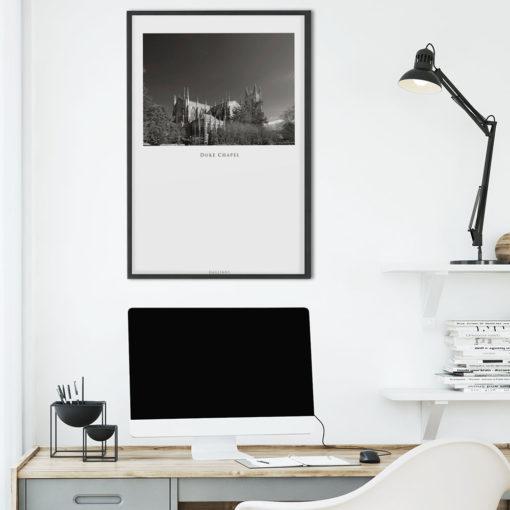 DUKE-CHAPEL-011-GALLIANI-COLLECTION-Wall-Art-Office-Decor