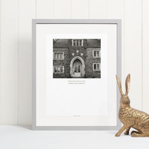 DUKE-Craven-Quad-Residence-Hall-008-GALLIANI-COLLECTION-Wall-Art-Grey-Frame