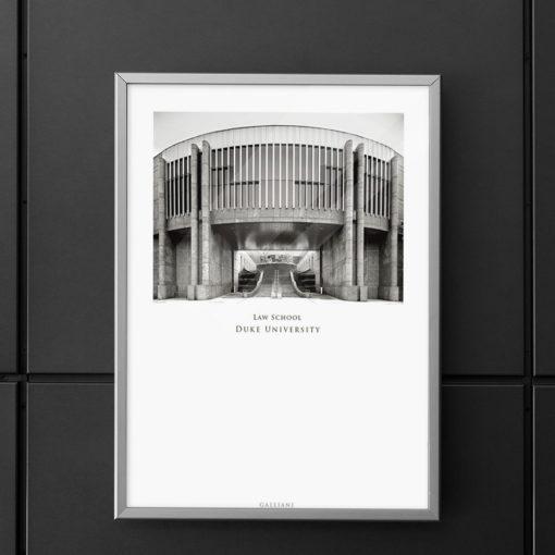 DUKE-Law-School-007-GALLIANI-COLLECTION-Wall-Art-Decor Black & White Photography