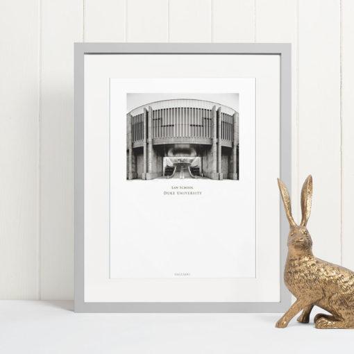 DUKE-Law-School-007-GALLIANI-COLLECTION-Wall-Art-Grey-Frame