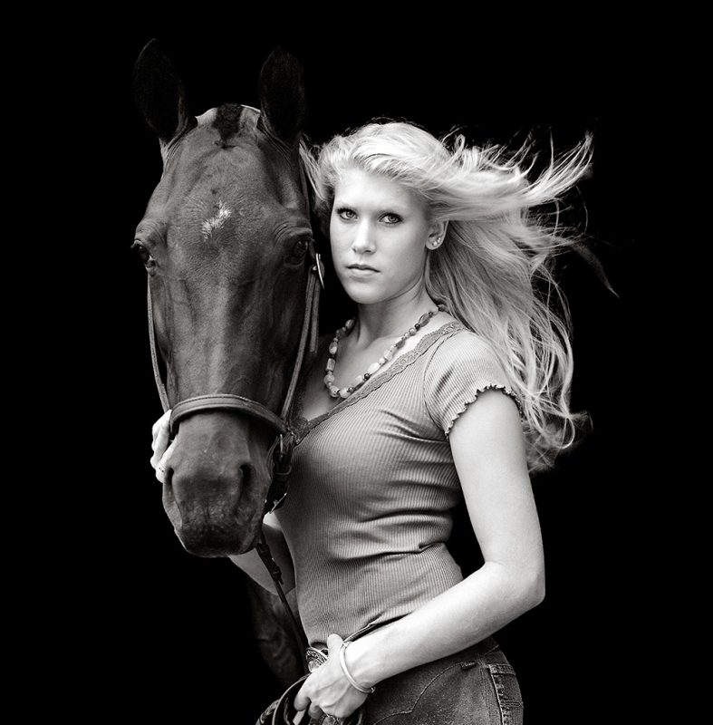 GALLIANI-COLLECTION-Courtney_Elliott-Equestrian-Portrait-B&W 1000x1017