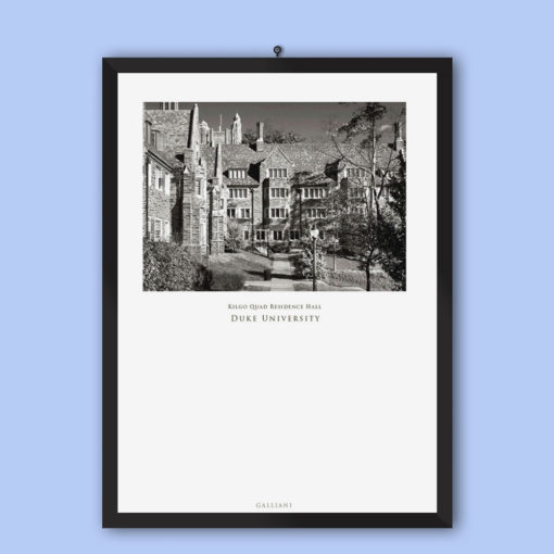 Kilgo-Quad-Residence-Hall-Duke-University-Wall-Art-Home-Decor