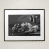 Black-Apples-print-photography-wall-art-galliani-collection-framed