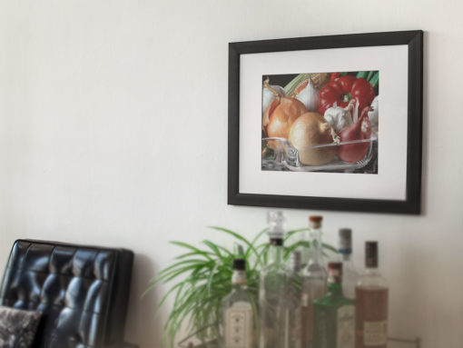 Vegetables-print-photography-wall-art-galliani-collection-dining-room-decor