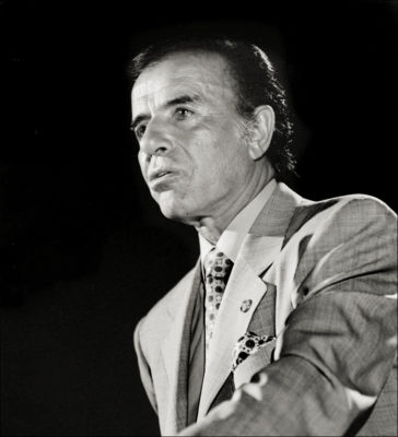 Carlos_Menem-President of Argentina-GALLIANI COLLECTIONS