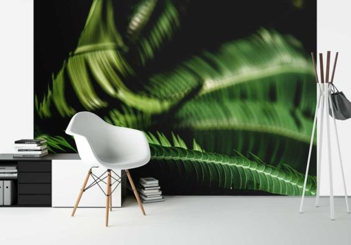 Fern-Leaves-Curling-Canvas-Wall-Art-Decor-large-photograph