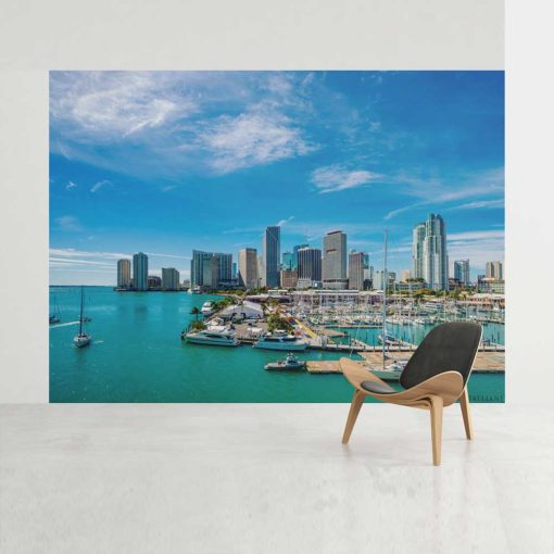 bayside-downtown-miami-brickell-photography-canvas-wall-art-decor-2 Color Photography