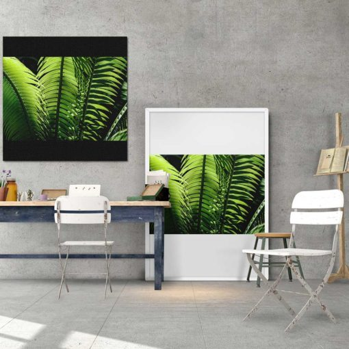 fern-plant-standing-leaves-wall-art-home-decor