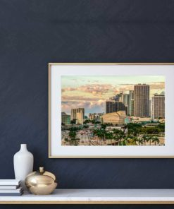Adrienne-Arsht-Center-Miami-Canvas-Wall-Art Color Photography