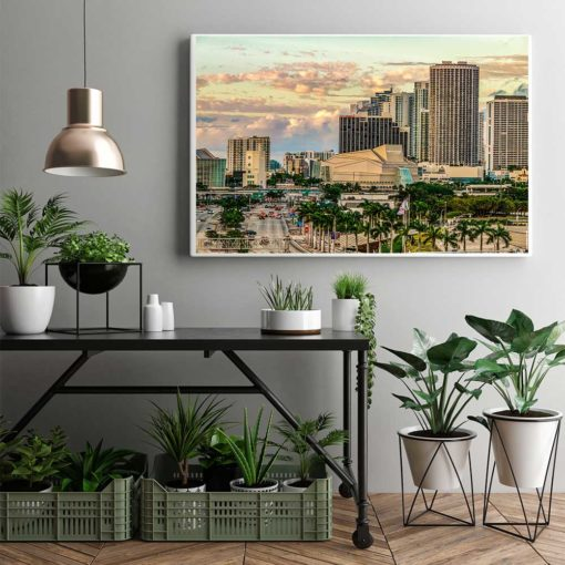 Adrienne-Arsht-Center-Miami-Canvas-Wall-Art-Mount Color Photography