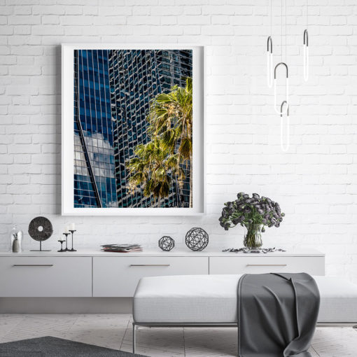 Brickell-Ave-Offices-Canvas-Wall-Art-White-Frame