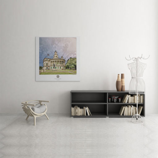 Coral-Gables-City-Hall-Poster-Cotton-Paper