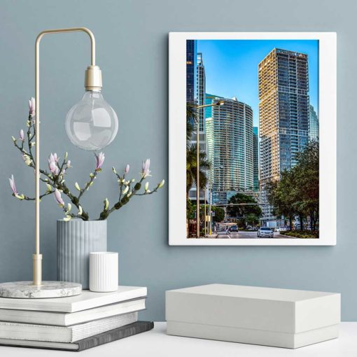 Icon-Building-Brickell-Miami-Canvas-Wall-Art-Frameless