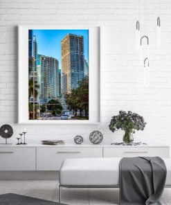 Icon-Building-Brickell-Miami-Canvas-Wall-Art-White-Frame