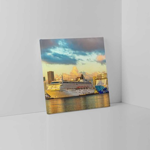 Miami-Main-Channel-Cruise-Port-Canvas-Wall-Art-mounted