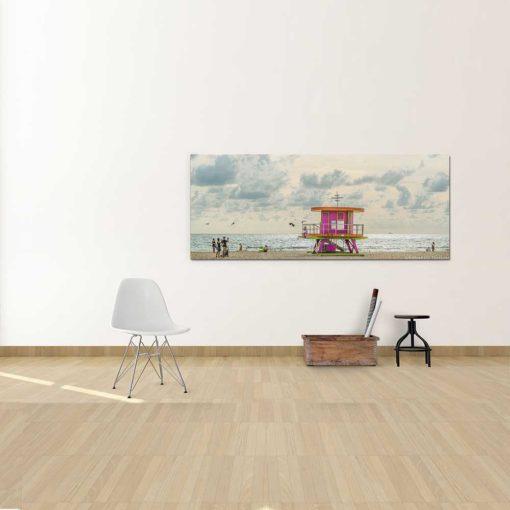 South-Beach-Life-Guard-Tower-Canvas-Wall-Art-Decor