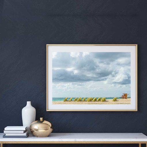 South-Beach-Miami-Mornings-Canvas-Wall-Art Color Photography