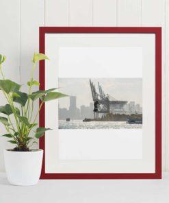 flight-over-port-of-miami-canvas-wall-art-decor-framed